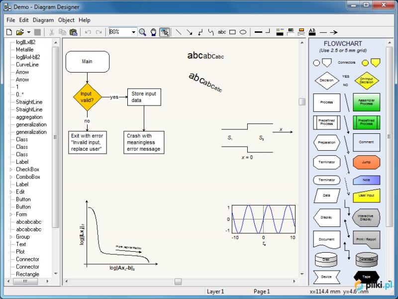 Diagram designer pliki program ma swoje gwne zastosowanie w systemach biznesowych tworzenie schematw organizacyjnych czy obiegu dokumentw jak i programistycznych tworzenie ccuart Images