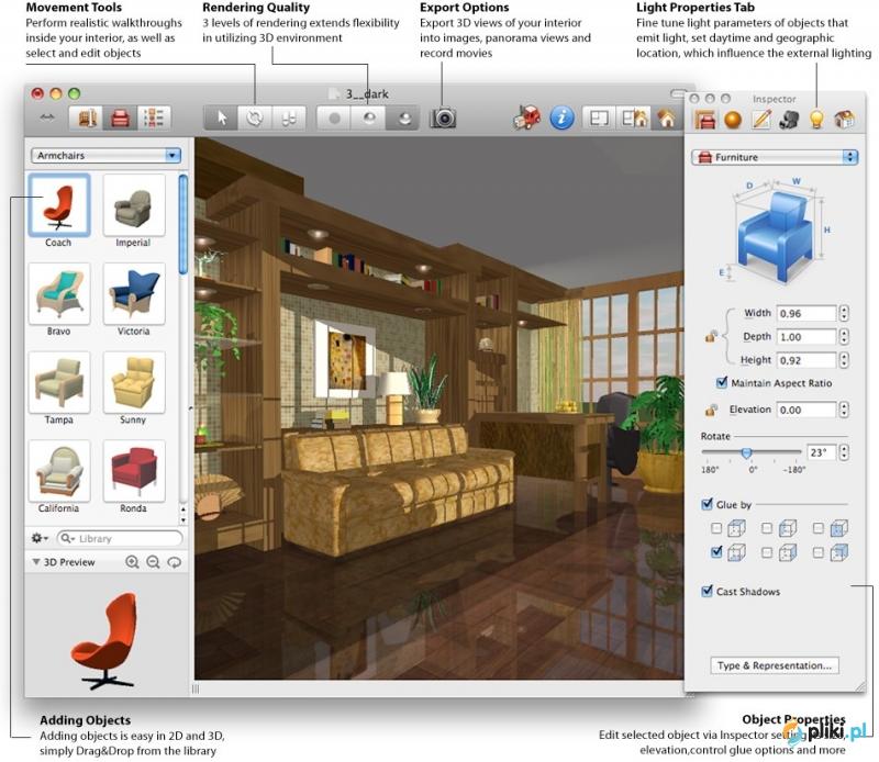 Live interior 3d standard mac os - Interior design software mac ...