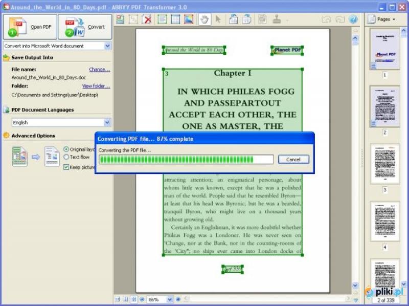 ABBYY PDF Transformer единственная в своем классе программа, которая скачат