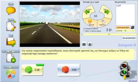 kurs na prawo jazdy kat b testy online