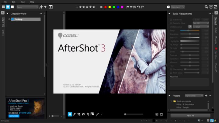 Corel AfterShot 3 za darmo