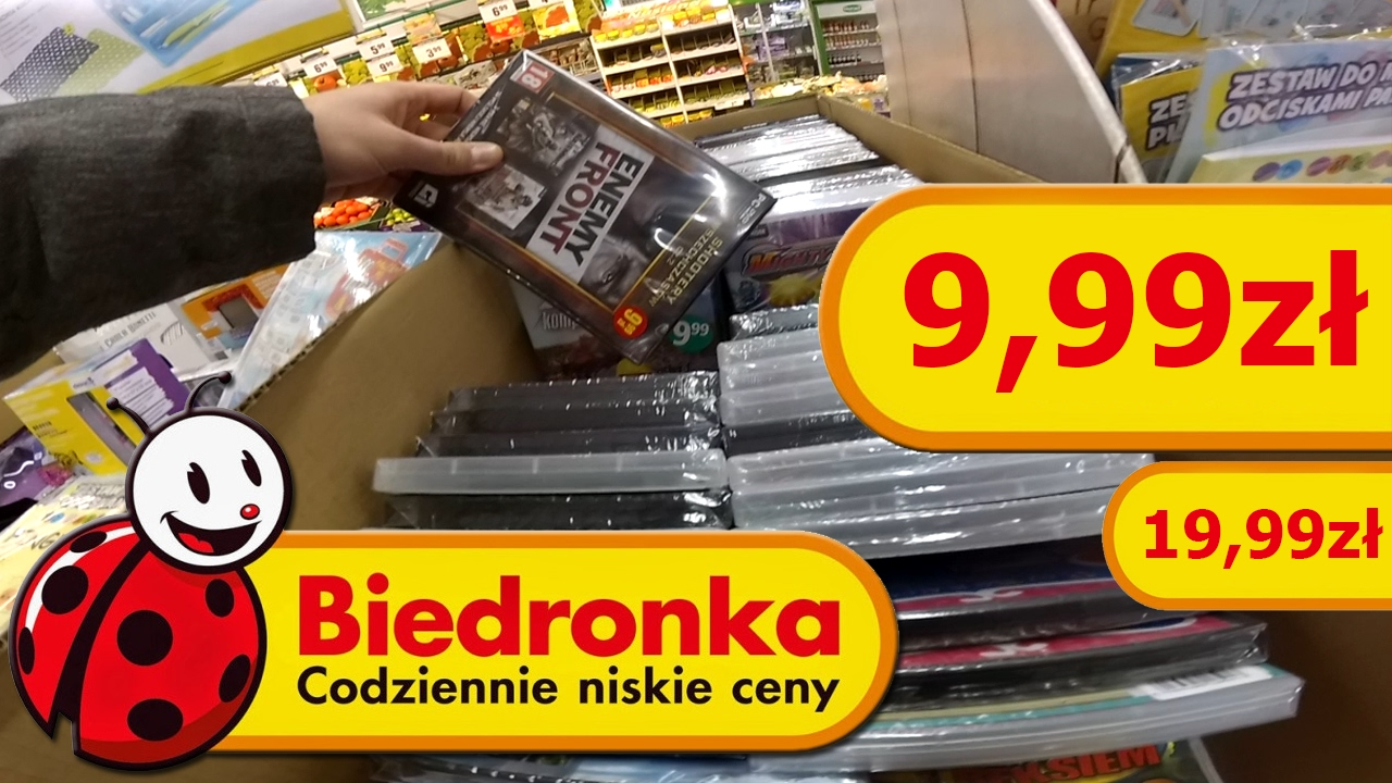 Gry w Biedronce na PC, PS4, PS3 i Xbox