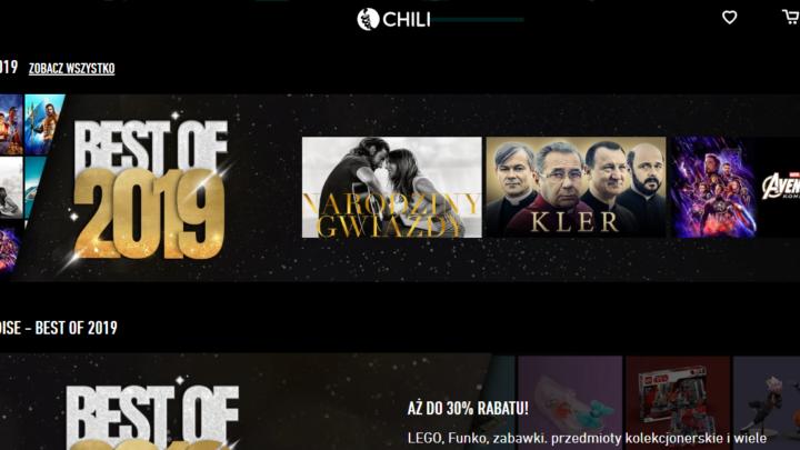 CHILI.tv filmy za darmo