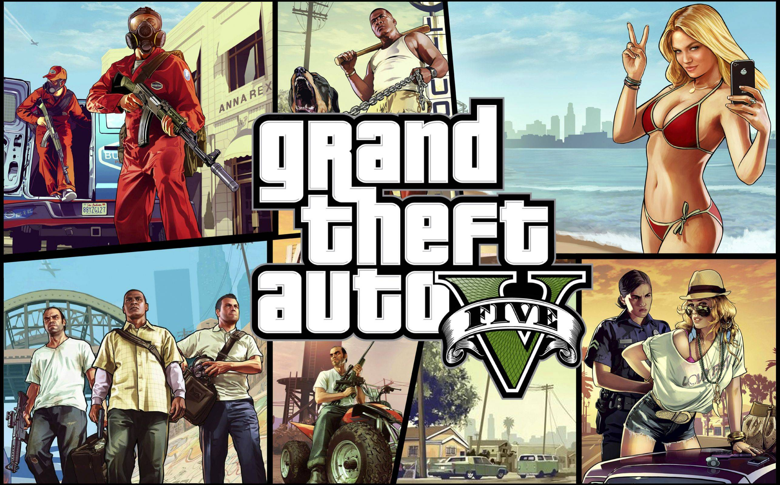 GTA V na PC, Xbox One i PS4 download
