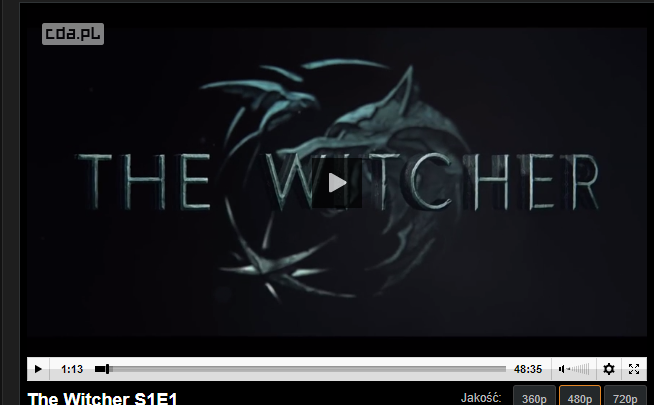 Wiedźmin The Witcher S1E1 online Netflix