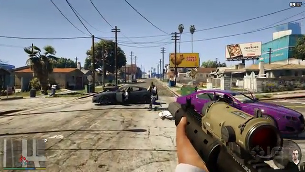 GTA V NaturalVision Remastered mod graficzny