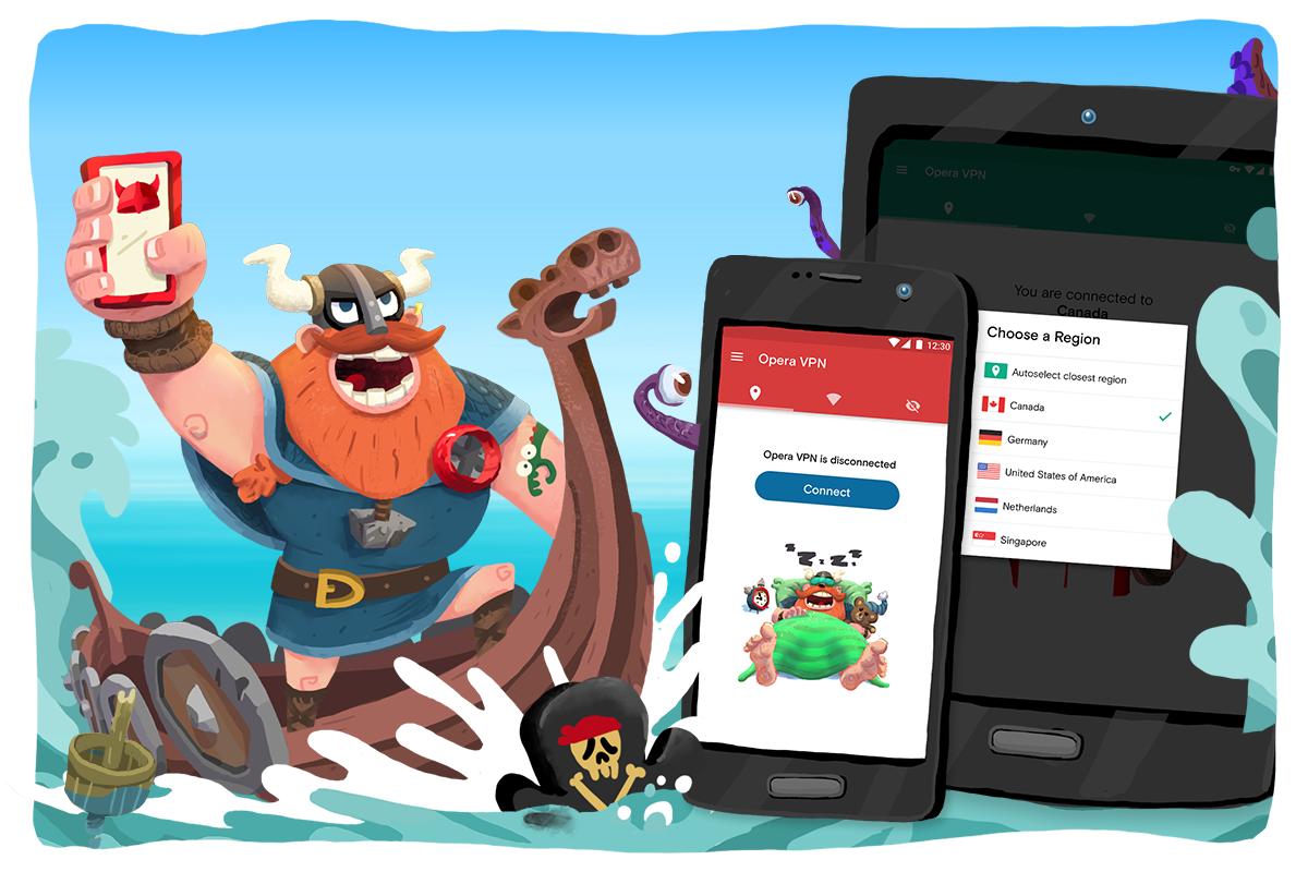 Opera VPN na Androida za darmo