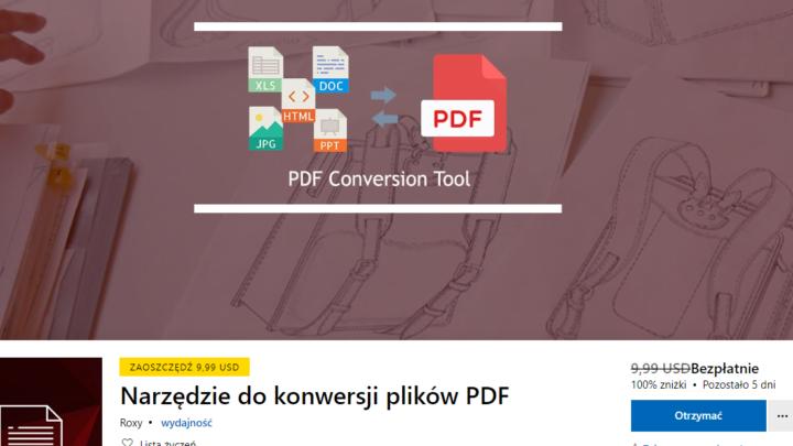 PDF Conversion Tool za darmo