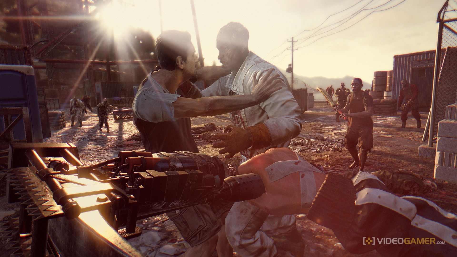 dying light the following combat
