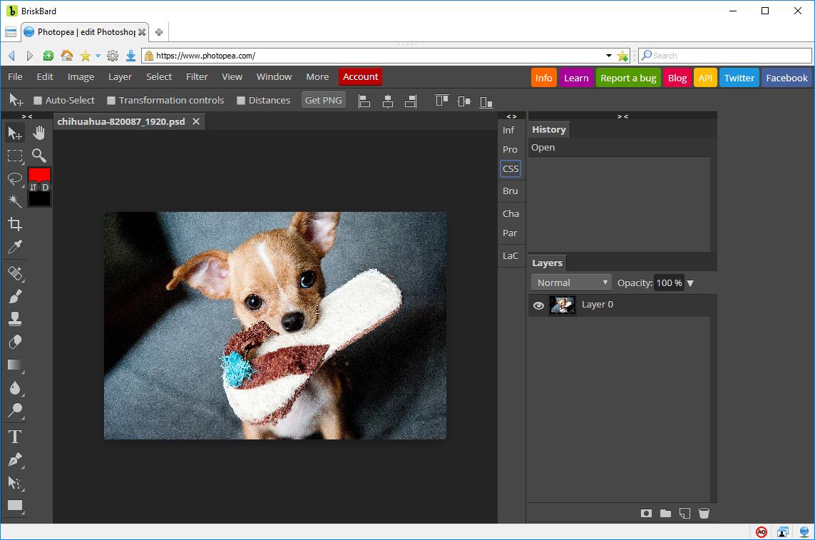 Photopea – Photoshop po polsku za darmo w przeglądarce
