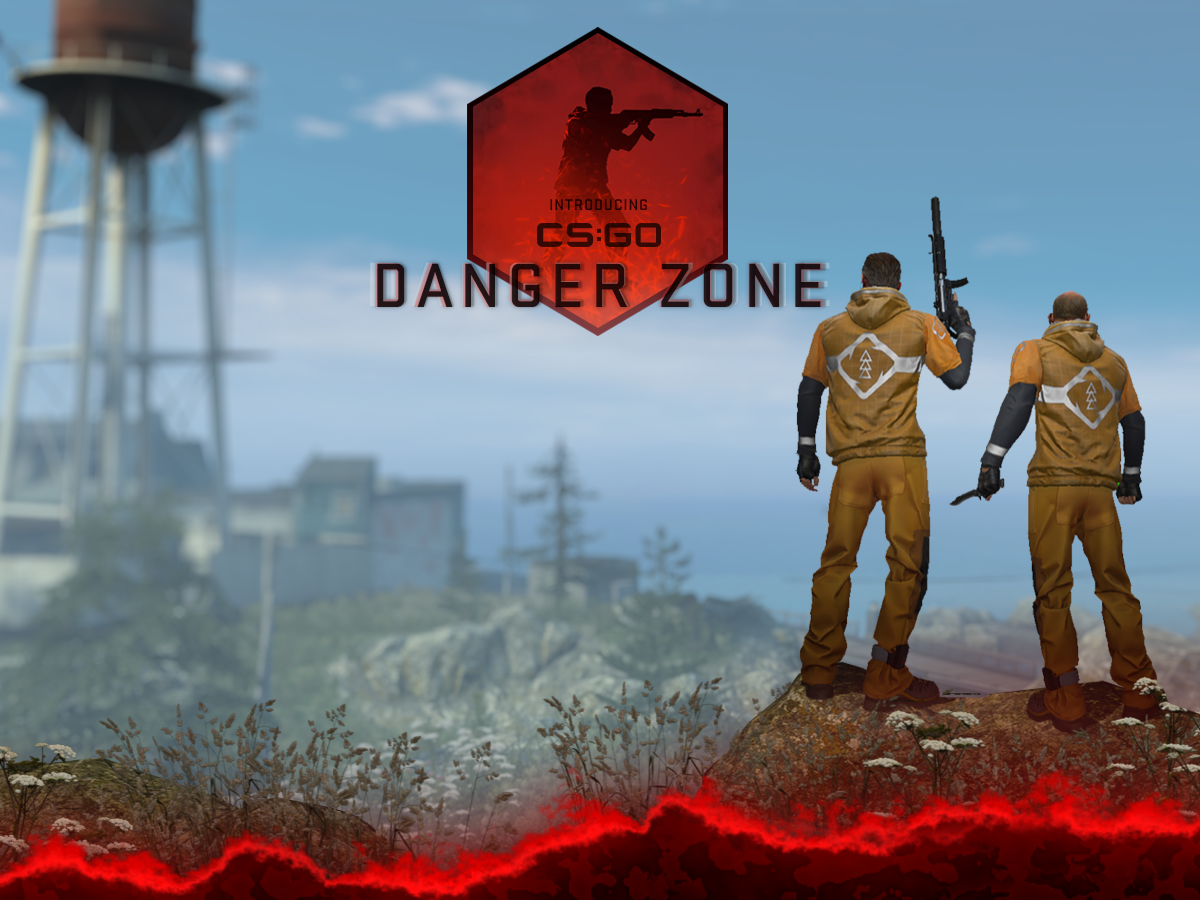 CS:GO grą Free 2 Play z trybem Battle Royale