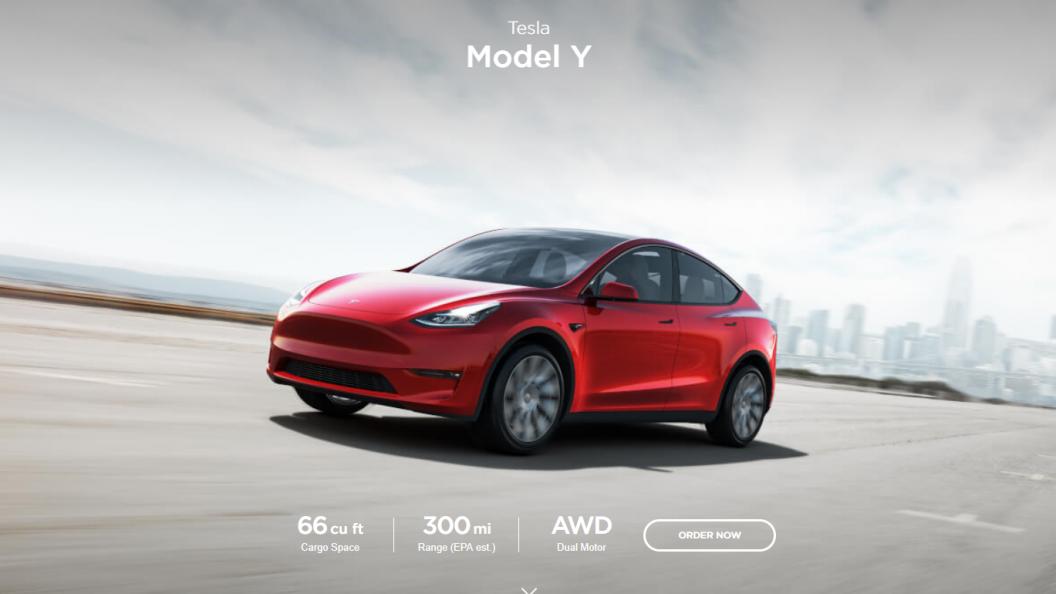 Tesla model Y – elektryczny SUV