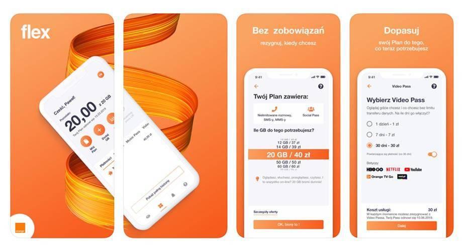 Orange Flex nowa oferta subskrypcyjna bez umowy