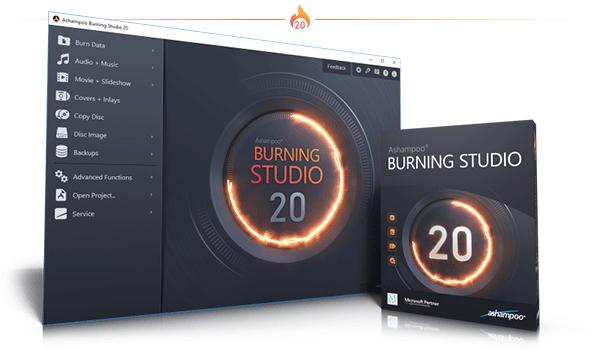 Ashampoo Burning Studio darmowy program do nagrywania płyt