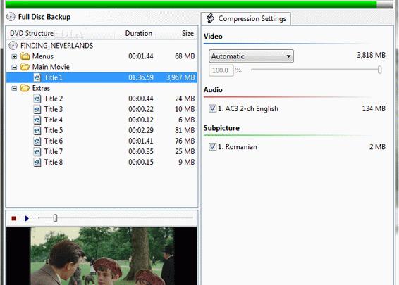DVD Shrink program do kopiowania płyt