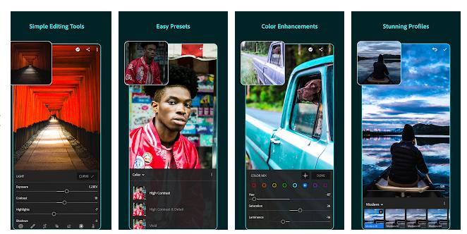 Adobe Lightroom aplikacja za darmo
