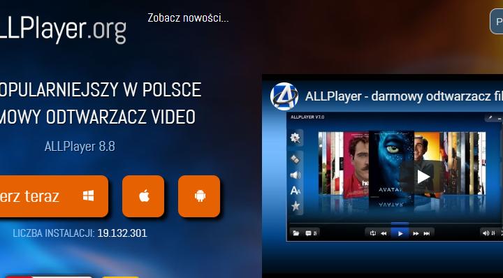 ALLPlayer program do oglądania filmów z napisami