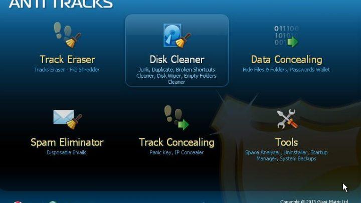 Anti Tracks Free program do ochrony prywatności