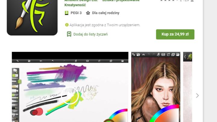 ArtRage aplikacja do malowania