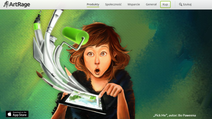 ArtRage iOS maluj na iPad i iPhone