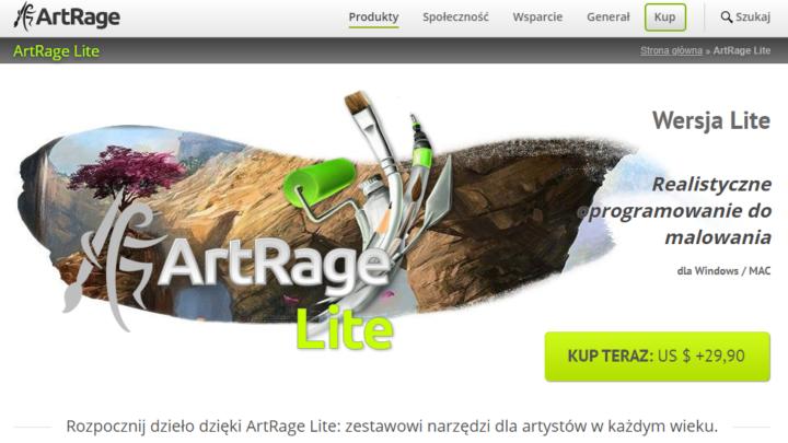 ArtRage Lite program do malowania