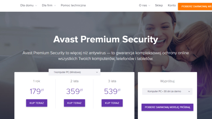 Avast Premium Security za darmo do pobrania