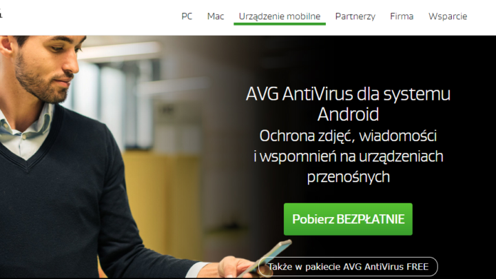 AVG Antywirus na Android