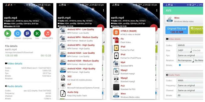 AVS konwerter wideo dla Androida za darmo