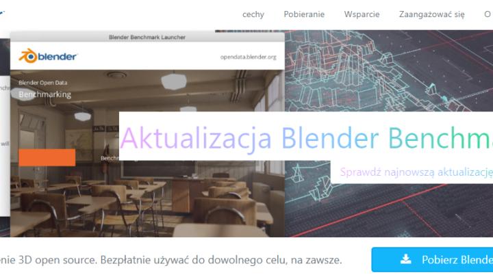 Blender program do tworzenia grafiki 3d i animacji