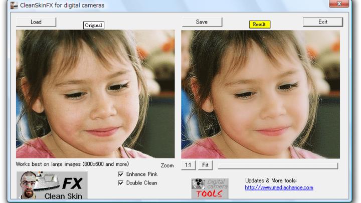 CleanSkinFX retusz zdjęć portretowych