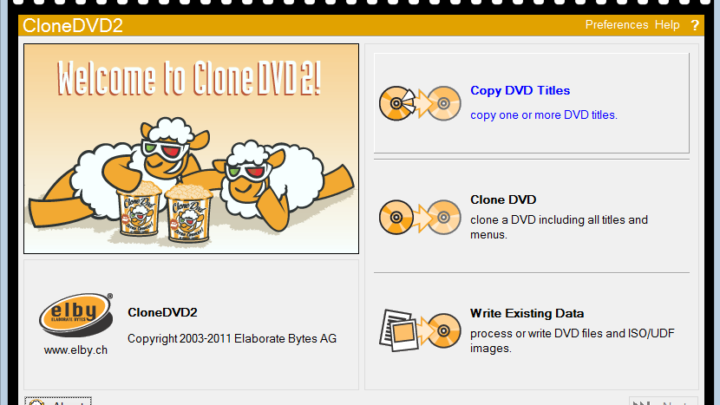 CloneDVD program do kopiowania płyt DVD
