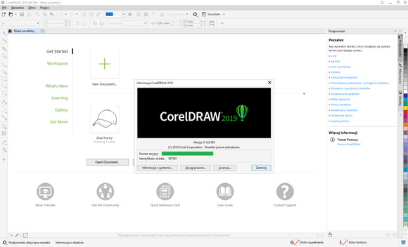 CorelDRAW Graphics Suite za darmo do pobrania