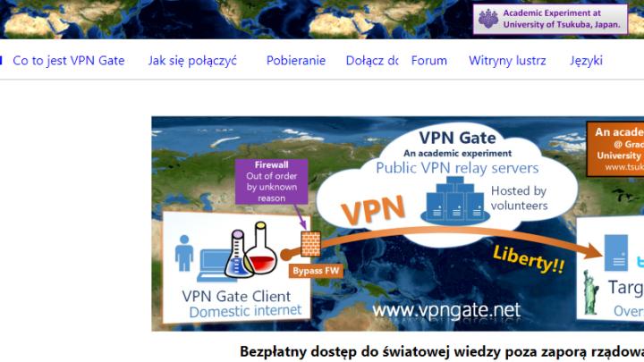 VPN Gate Client zmień adres IP