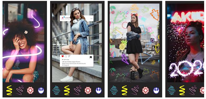 Nocrop Photo Editor efekty selfie i filtry twarzy