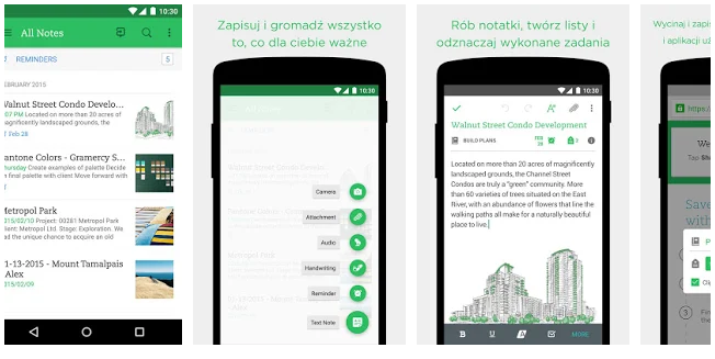Evernote za darmo organizator do notatek
