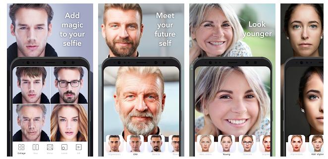 FaceApp aplikacja do postarzania twarzy za darmo