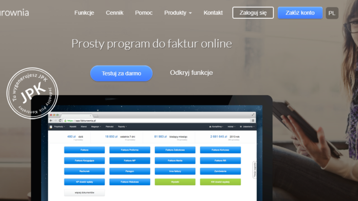 Fakturownia program do faktur online