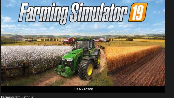 Farming Simulator 19 za darmo