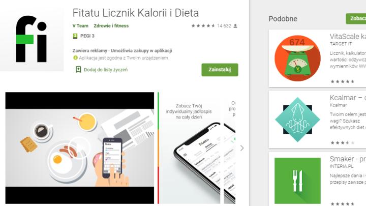 Fitatu Licznik Kalorii – aplikacja na telefon za darmo