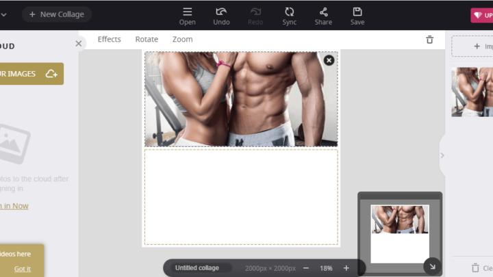 Photo Collage program do tworzenia kolaży zdjęć
