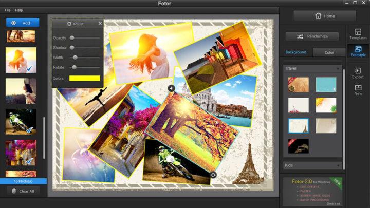 Fotor darmowy program do obróbki zdjęć