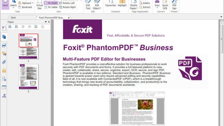 Foxit PhantomPDF do tworzenia i edycji PDF