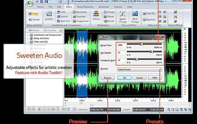 Free Audio Editor darmowy edytor audio