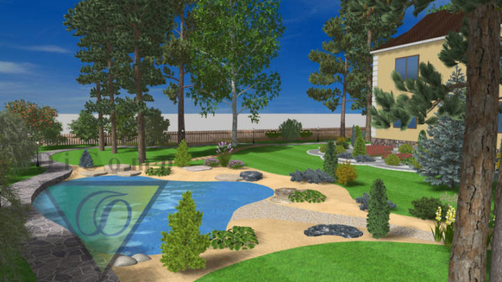 Garden Composer 3D Plus program do projektowania ogrodu