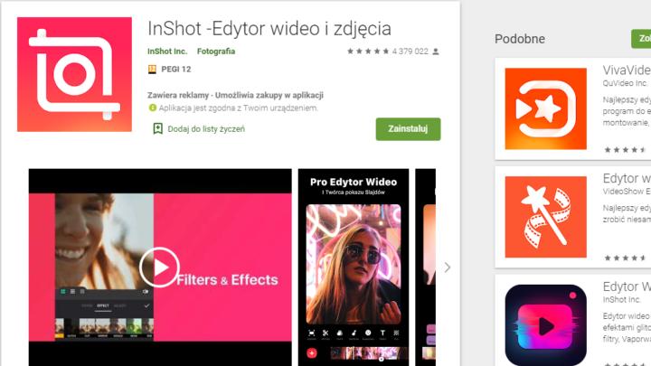 InShot Edytor wideo i zdjęcia