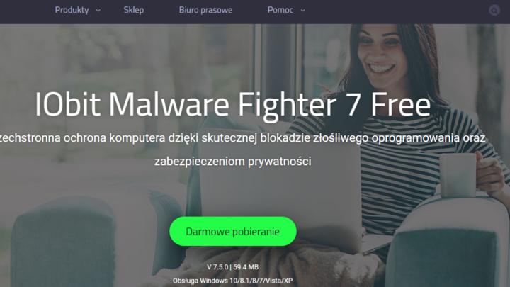 IObit Malware Fighter Free darmowy antywirus