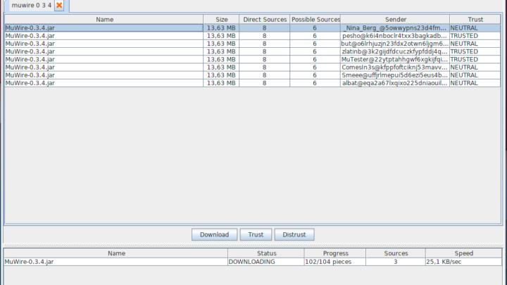 MuWire darmowy program p2p