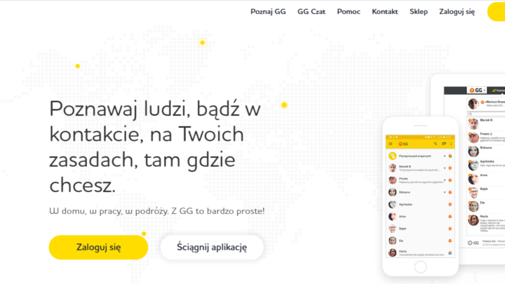 GG nowe Gadu-Gadu