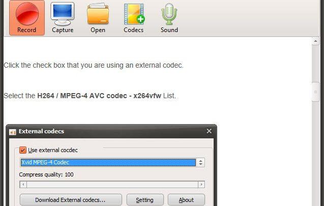oCam rejestrator ekranu komputera