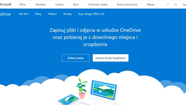 Microsoft OneDrive za darmo
